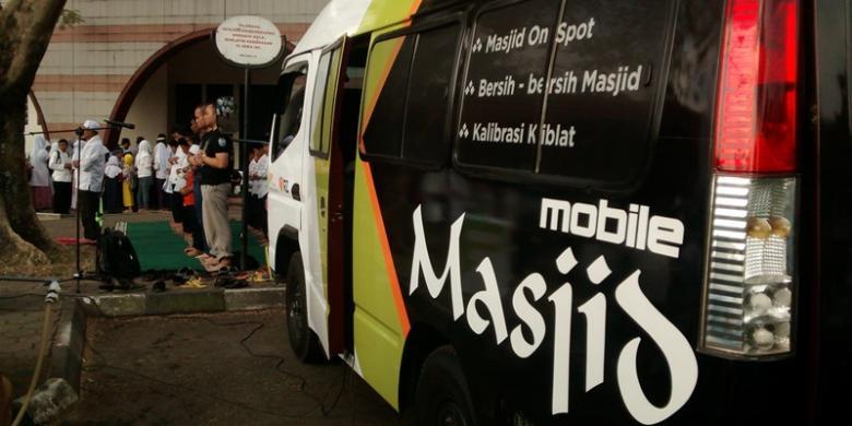 """""""Masjid Mobile"""", Inovasi Baru Tempat Shalat di Bandung"""
