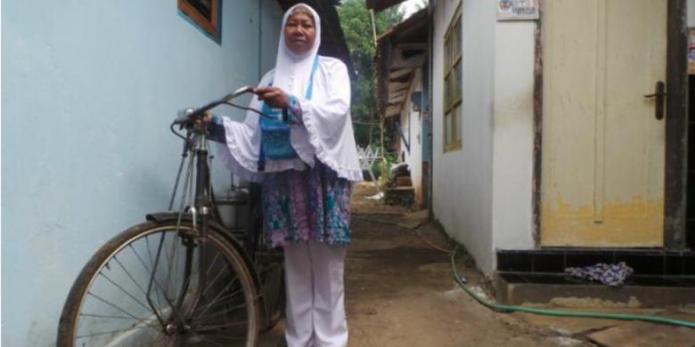 Demi Naik Haji, Penjual Bubur Candil Ini Menabung 24 Tahun
