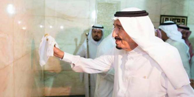 Jelang Ramadan, Raja Arab Cuci Kabah