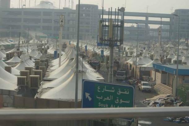 Calon Jamaah Haji Jangan Lupa Bawa Spray Air