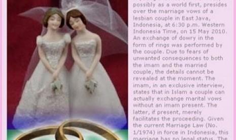 MUI: Pernikahan Sejenis Adalah Sakit Jiwa