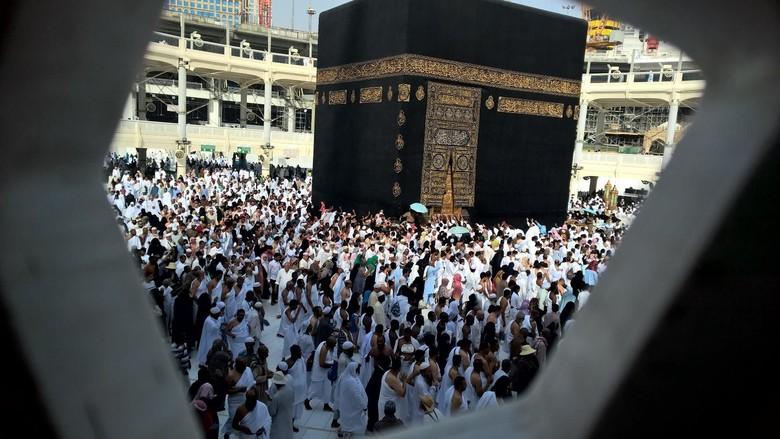 Inilah Suasana Awal Musim Haji di Masjidil Haram
