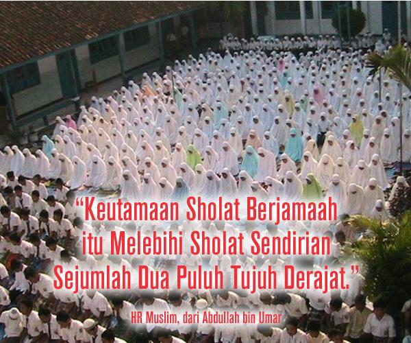 Keutamaan Sholat Berjamaah di Mesjid