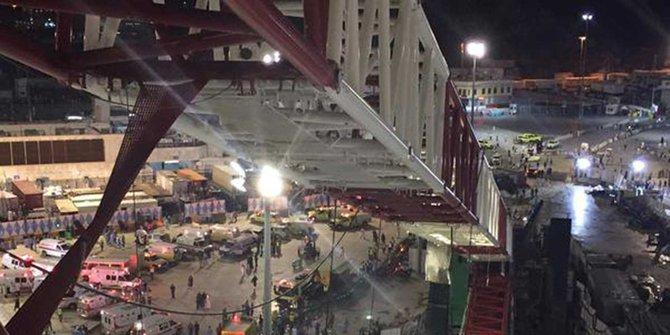 Satu lagi jamaah haji Indonesia tewas akibat crane jatuh di Makkah