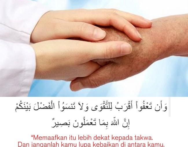 Memaafkan,…