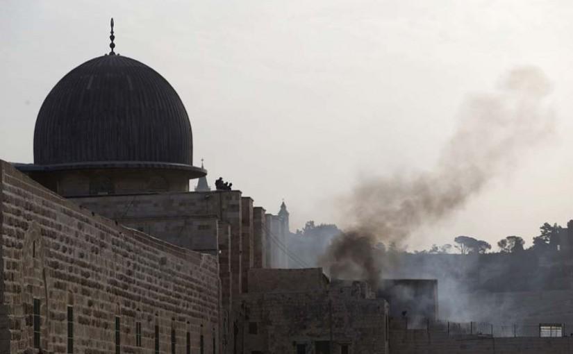 Israel Larang Pemuda Palestina Shalat Jumat di Al Aqsa
