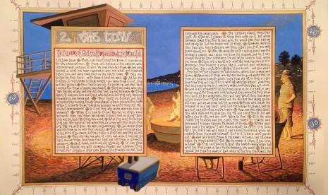 Ini Kisah Perjalanan Sandow Birk dalam Menulis American Qur'an