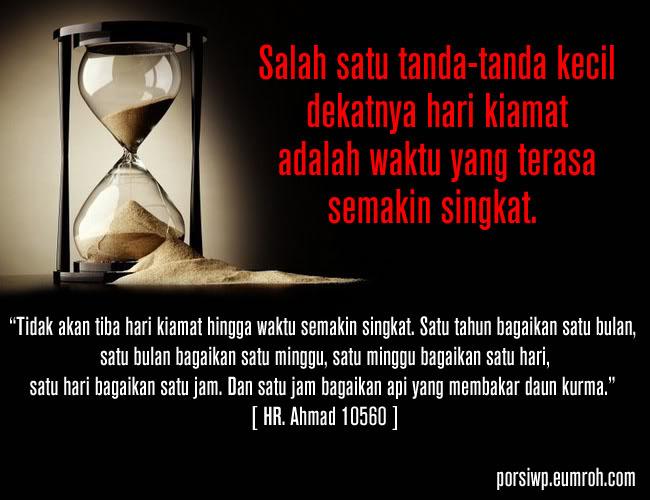 Waktu yang Begitu Cepat