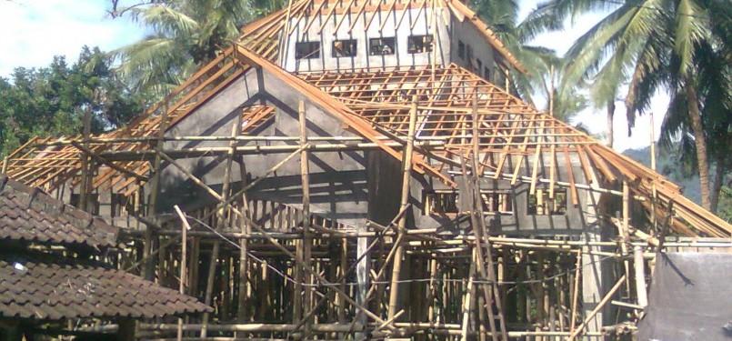 Keutamaan Membangun Masjid Walau Hanya Memberi Satu Bata