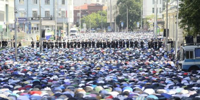 Moskow Jadi Kota Muslim Terbesar di Eropa