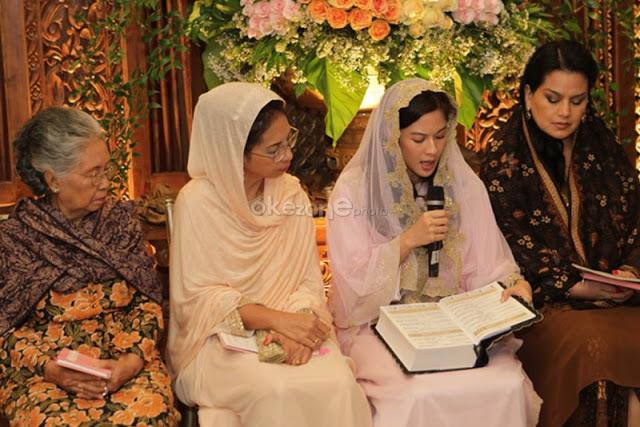 Kebahagiaan Dian Sastro Ketika Masuk Islam, Meski Ayahnya Buddha dan Ibunya Katolik