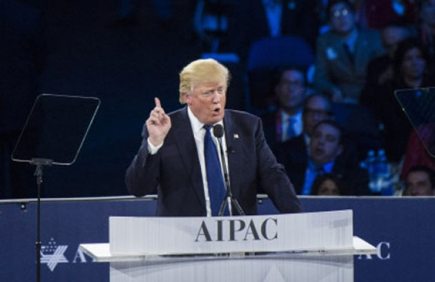 Jilat Yahudi, Calon Presiden AS Donald Trump Janji Menekan Palestina Akui Israel