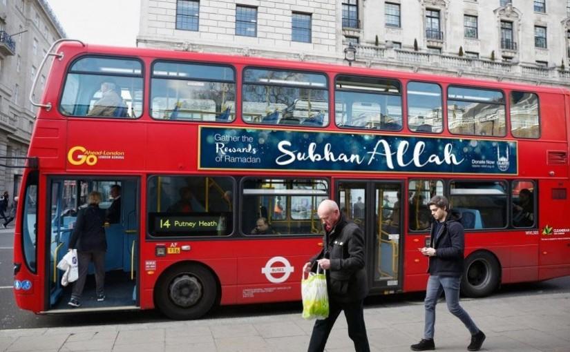 Kalimat Subhanallah akan Tersebar di Inggris