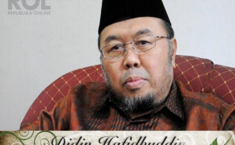 Soal Kota Islami, Didin: Jangan Patahkan Perda Syariah