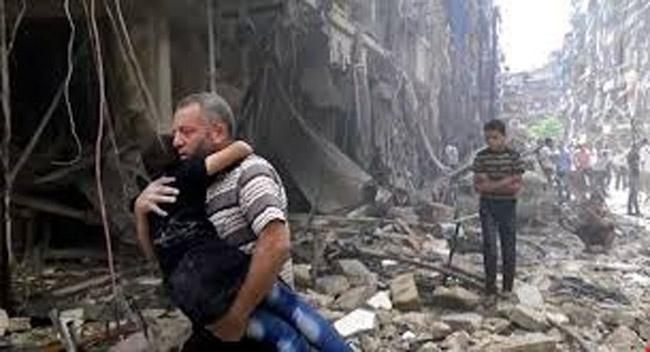 Aleppo Berdarah, Dunia Membisu