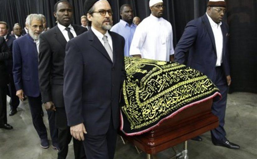 14 Ribu Orang Hadiri Shalat Jenazah Muhammad Ali