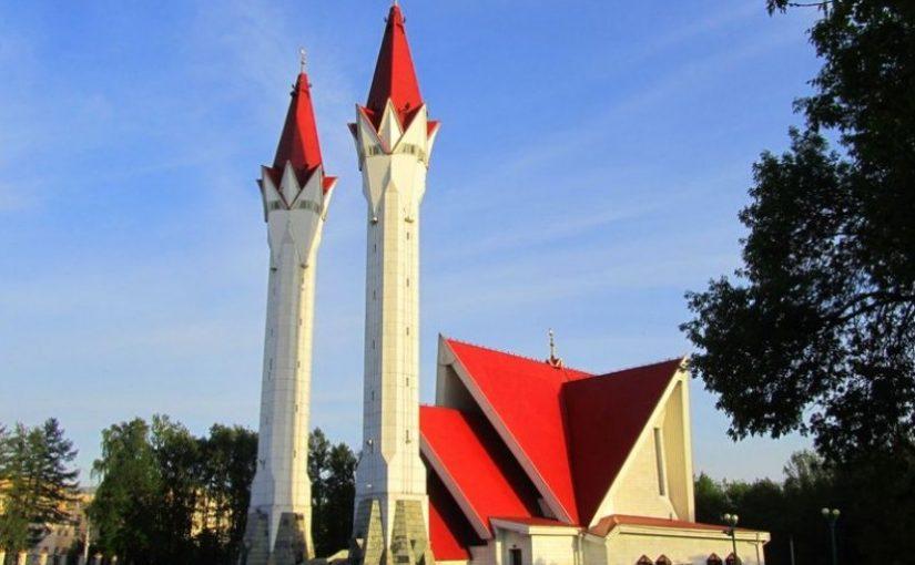 Menara Tulip Masjid Lala Tulpan Rusia