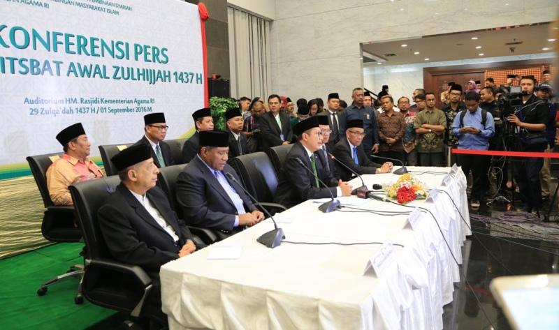 Pemerintah Tetapkan Idul Adha 1437H 12 September 2016