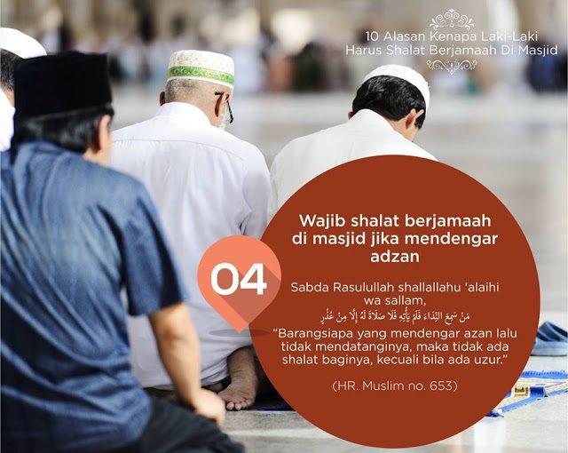 10 Alasan Laki-Laki Harus Sholat Berjamaah di Masjid -4-