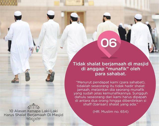 10 Alasan Laki-Laki Harus Sholat Berjamaah di Masjid -6-