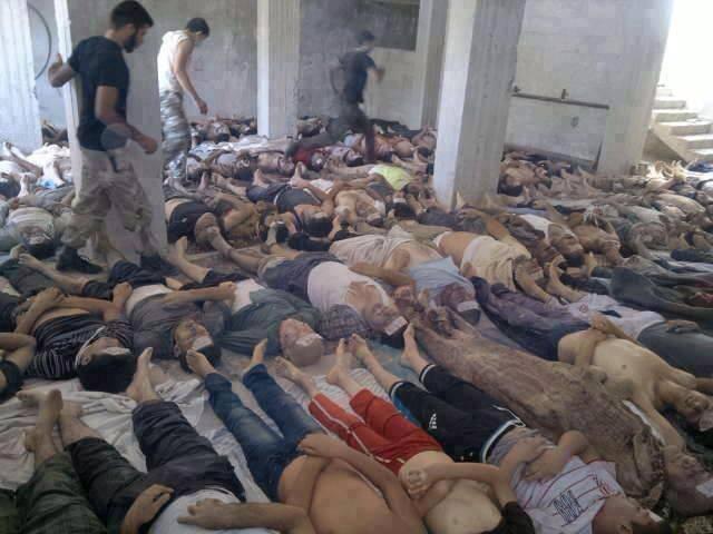 Penggunaan Senjata Kimia di Lima Tahun Konflik Suriah