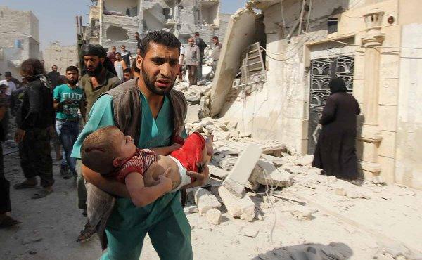 Anak-anak Aleppo tak Punya Banyak Pilihan, Sungguh Memilukan