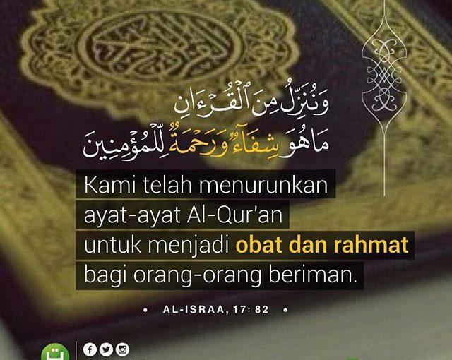 Al-Qur'an sebagai Obat dan Rahmat