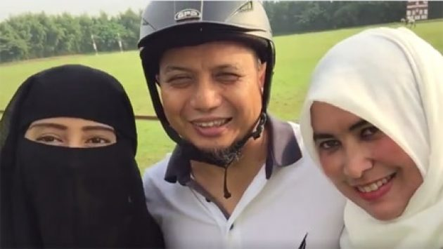 Ustadz Arifin Ilham: 1 Istri Cukup, Kalau 2 Bisa Damai Lebih Utama