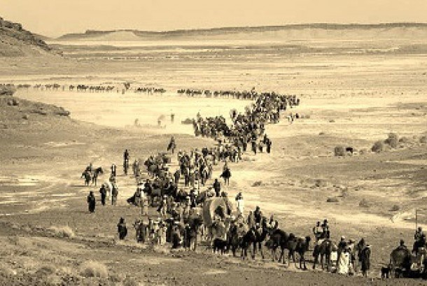 Berkonvoi, Cara Jamaah Haji Mesir ke Tanah Suci