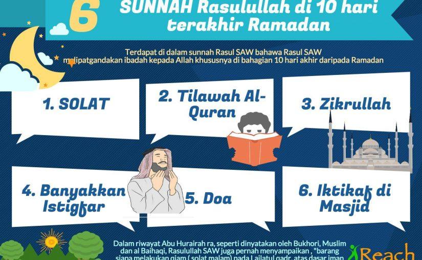 Ingat,10 Malam Terakhir Ramadhan