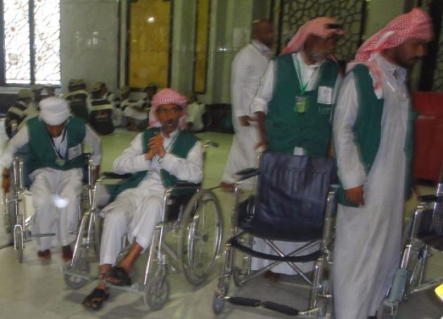 Biaya Sewa, Layanan Dorong Kursi Roda di Masjidil Haram Naik Tajam