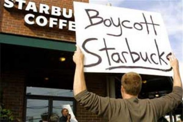 Pro Homoseksual, Starbucks Pantas Dibuang