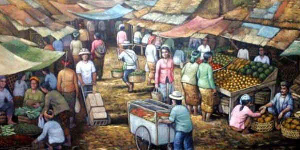 Pasar dan Pengajian