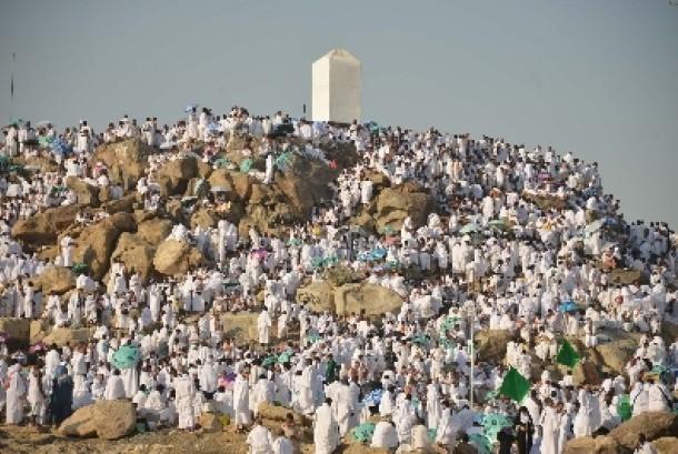 Berkumpul di Jabal Rahmah (1)
