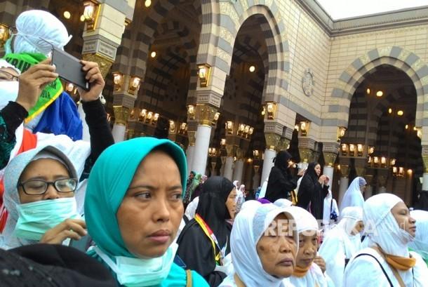 55 Persen Jamaah Haji 2017 Perempuan