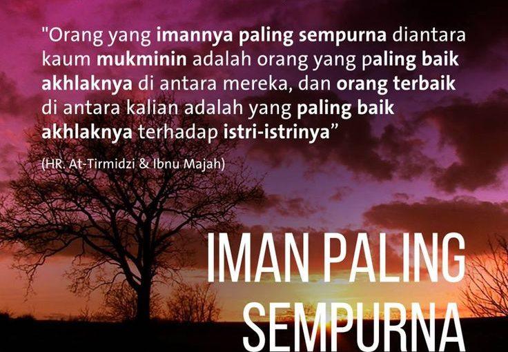 Iman Paling Sempurna