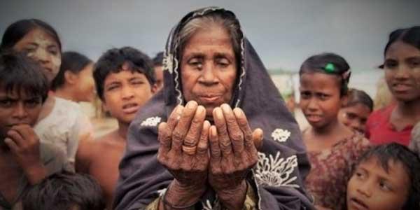 Doa untuk Pengungsi Rohingya