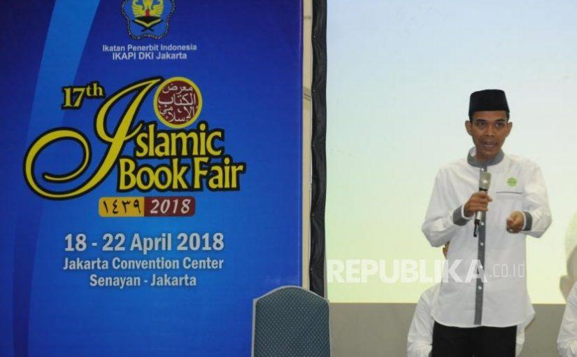 Ustaz Abdul Somad: Jangan Mudah Terpovokasi Hoaks