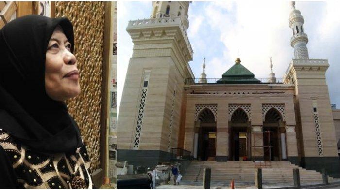 Penjual Ayam Asal Sleman Bangun Masjid Megah Tiga Lantai Bergaya Jawa dan Timur Tengah