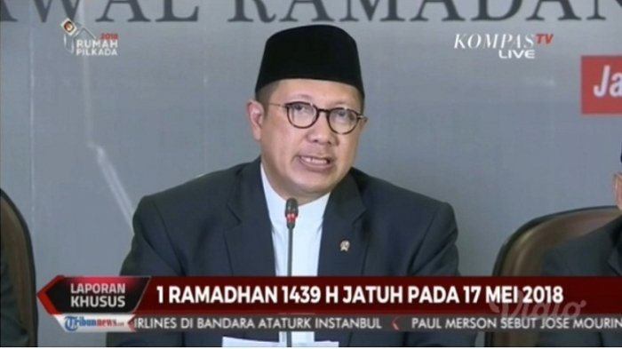 1 Ramadhan 1439 H Pada Kamis, 17 Mei