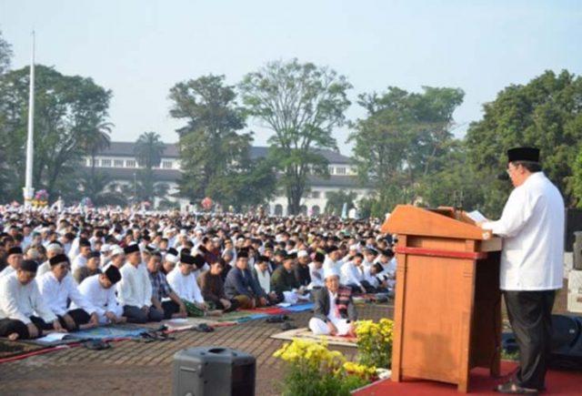 Niat Sholat Idul Fitri, Bacaan dan Tata Cara Lengkap