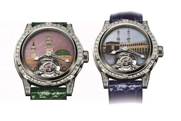 Arloji Luis Moinet Berornamen Masjidil Haram dan Nabawi