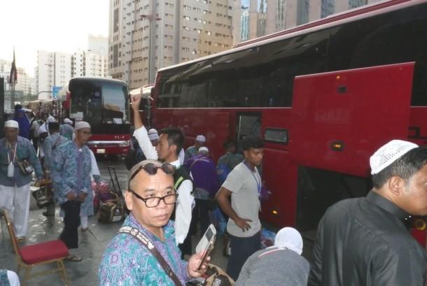 Jamaah Haji Harus Makan Sebelum Keluar Kamar