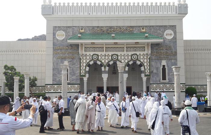 Menyelami Sejarah Dua Masjid Suci di Museum Harramain