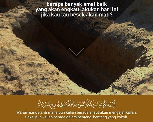 Amal sebelum Kematian,..