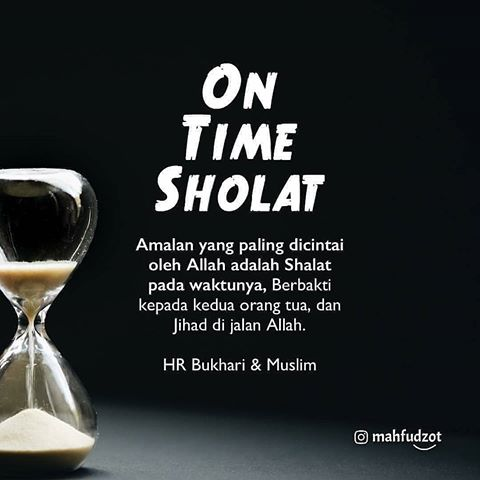 On Time Sholat