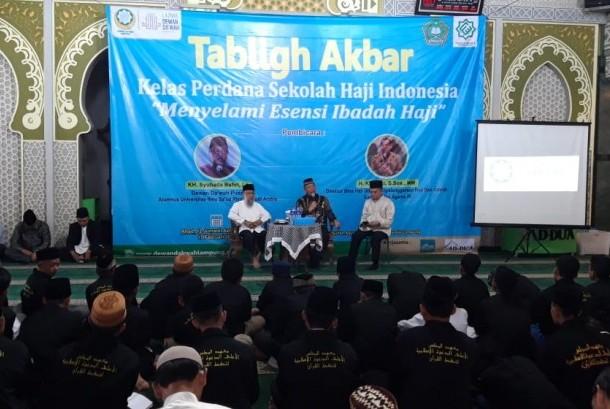 Sekolah Haji Indonesia Gelar Kelas Perdana