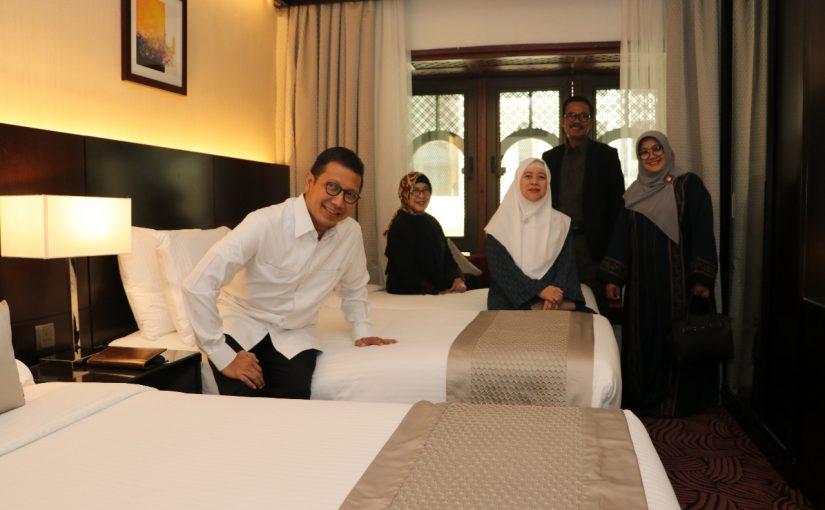 Seluruh Hotel Jemaah Indonesia di Wilayah Markaziyah Madinah