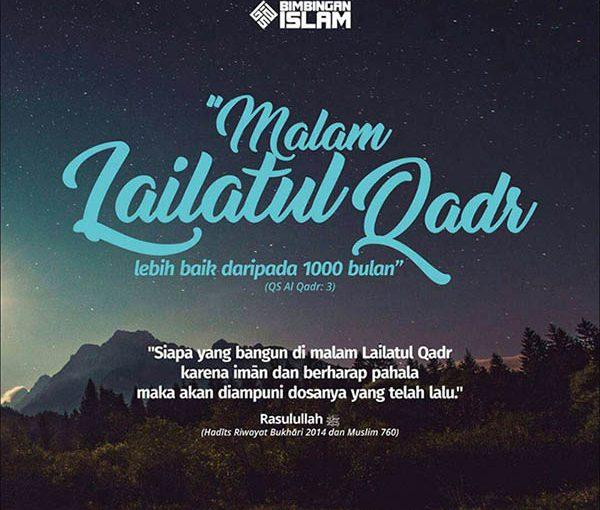 Malam Lailatul Qodar, Lebih Baik dari 1000 Bulan