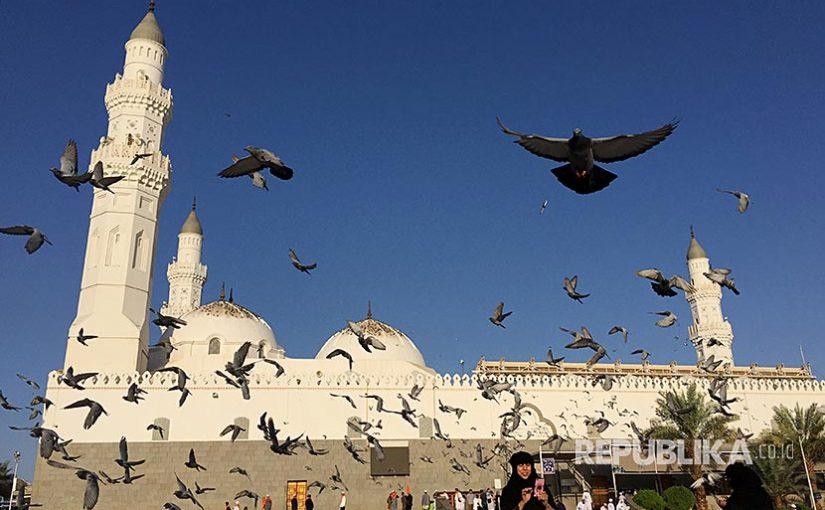 Berkunjung ke Masjid Quba yang Diarsiteki Rasulullah